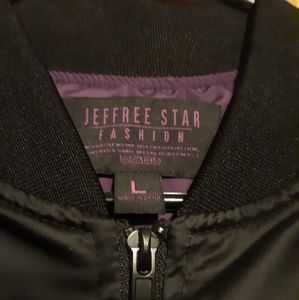 Jeffree Star Jackets & Coats - Jeffree star blood lust bomber jacket